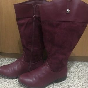 EUC 9WW extra wide + wide calf tall boots